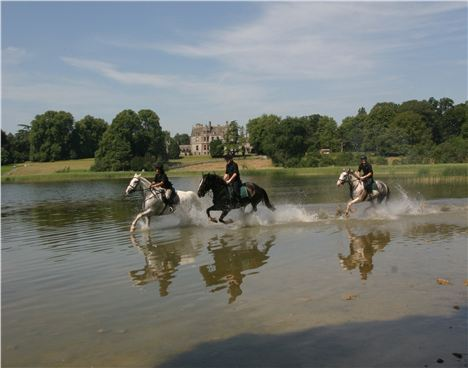 Riding At Castle Leslie