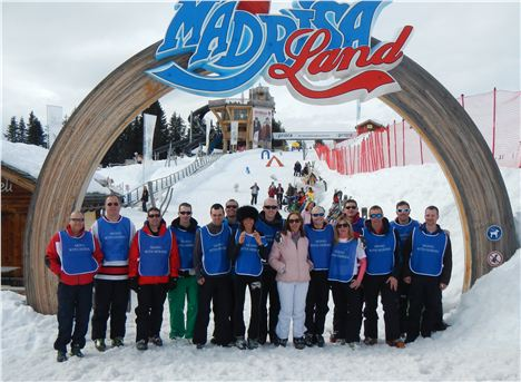 High Society . . . The Heroes With Tara P-T At The Madrisa Ski Area