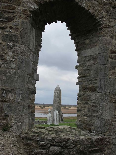 Mccarthy's Tower At Clonmacnoise