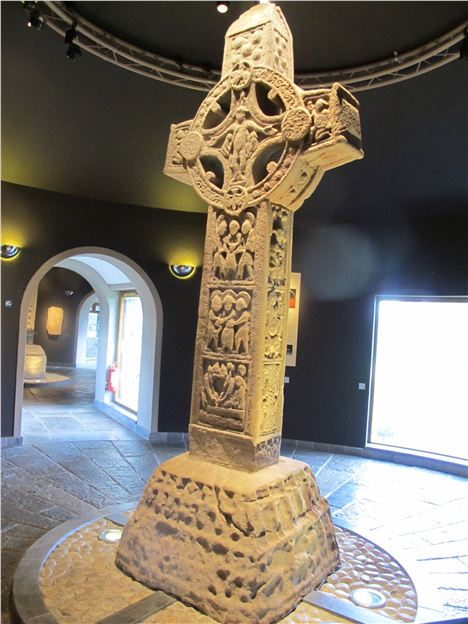 Clonmacnoise First Cross