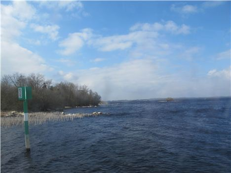Lough Ree, Part Of The Shannon Waterway