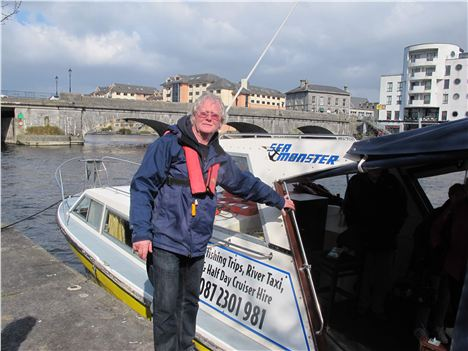 Our Lough Ree Skipper, Terry Benson