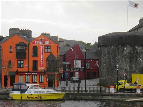 Barracuda Docks On Colourful Athlone Quay