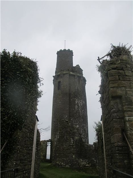 Tower Folly At Ballyfin
