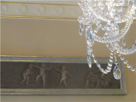 Ballyfin %26#8211%3B Frieze And Chandelier