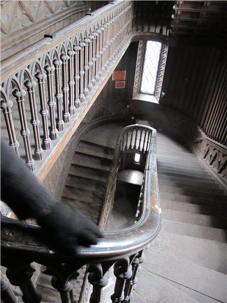 The Staircase Where Harriet Plunged To Her Doom