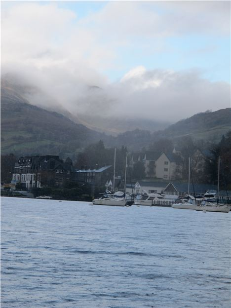 Weather Closes In On Windermere