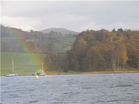 Rainbow Over Windermere Shore