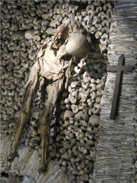 Gruesome In The Ossuary Chapel