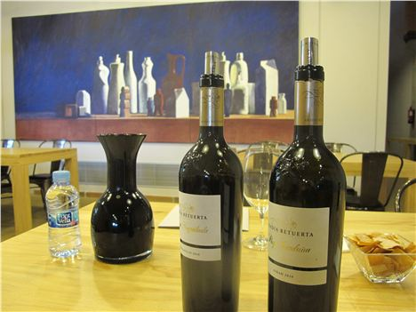 Wine Sampling Time At Abadia Retuerta