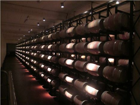 Barrel Store At Abadia Retuerta
