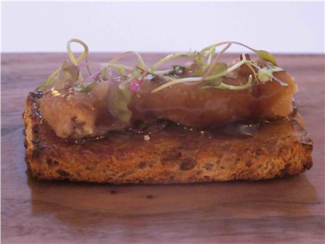 Bone Marrow Rye Toast With Onion
