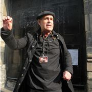 Peter, Our Ebullient Auld Reekie Ghost Tour Guide
