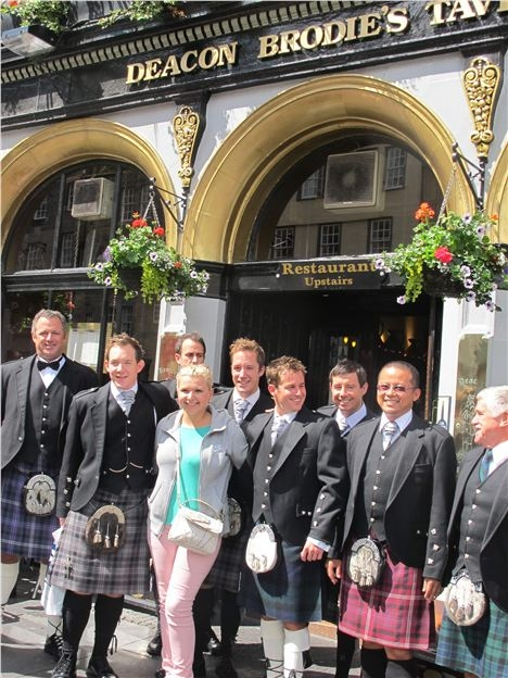 Deacon Brodie And The Kilted Ones
