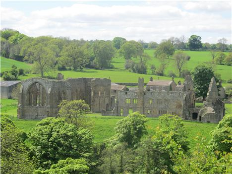Egglestone Abbey, Near Barnard Castle