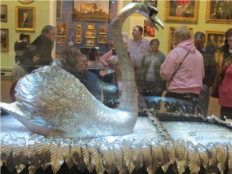 The Silver Swan At Bowes Museum