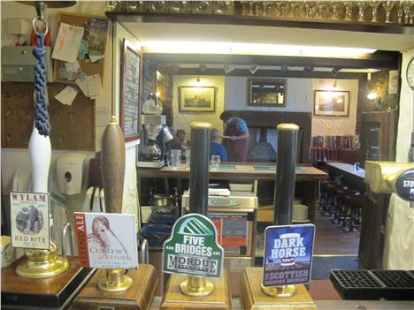 Local Ales At The Feathers