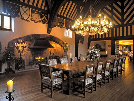 Samlesbury Hall - Attractions - Great Hall