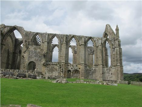 Bolton Abbey's Austere Skeleton