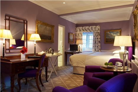 Bedroom At Devonshire Arms