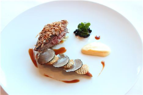 Roast Grouse - Smoked Parsnip And Bilberries