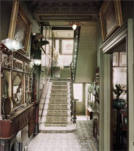 Staircase At Linley Sambourne House