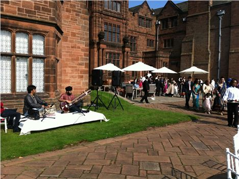 Sitar And Tabla At Thornton Manor