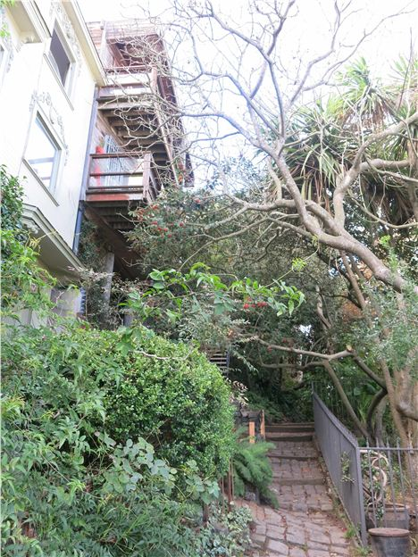 Macondray Lane, Russian Hill %26#8211%3B Armistead Maupin Territory