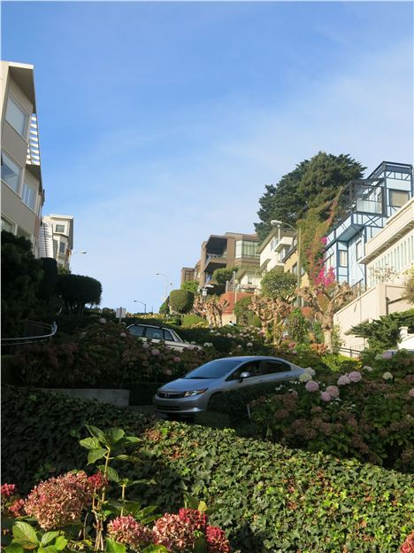 Lombard Street, The %26#34%3BCrookedest%26#34%3B
