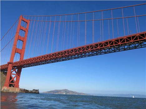 Sailing Under The Golden Gate