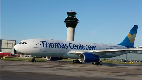 Thomas Cook Airlines' Debut Flight To Antigua