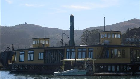 Houseboat Heaven In Sausalito's Dock Of The Bay