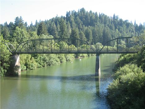 Guerneville's Historic Bridge