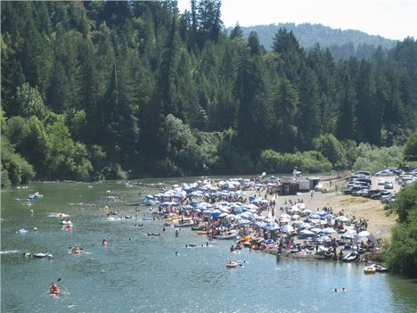 Johnson's Beach Guerneville