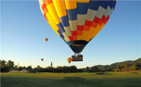 Balloon Trips Are A Big Dea In The Napa Valley