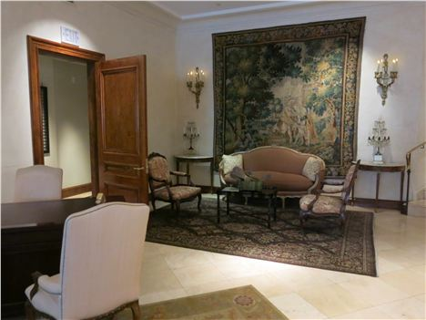 Les Mars Foyer With Tapestry