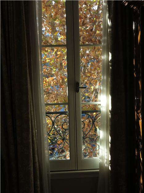 Dappled Bedroom Window At Les Mars