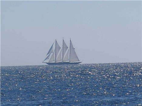 Heading For The Tall Ships In Toulon %26#8211%3B From Cap Coastal Path