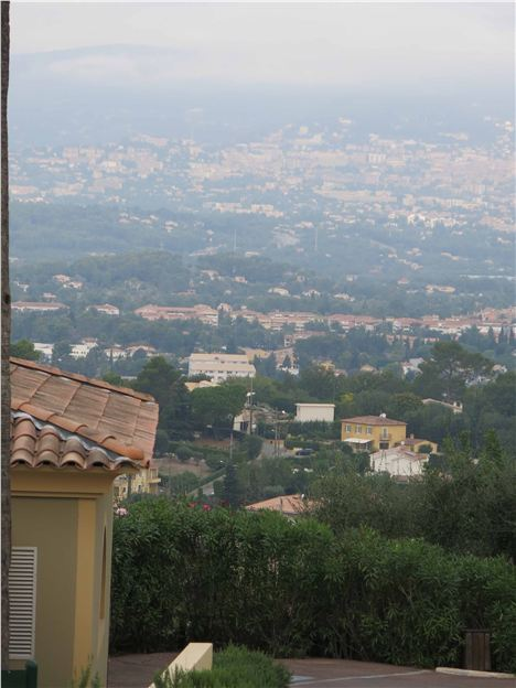 Grasse In The Distance