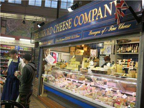 The Great Cheese Stall In Oxford Market