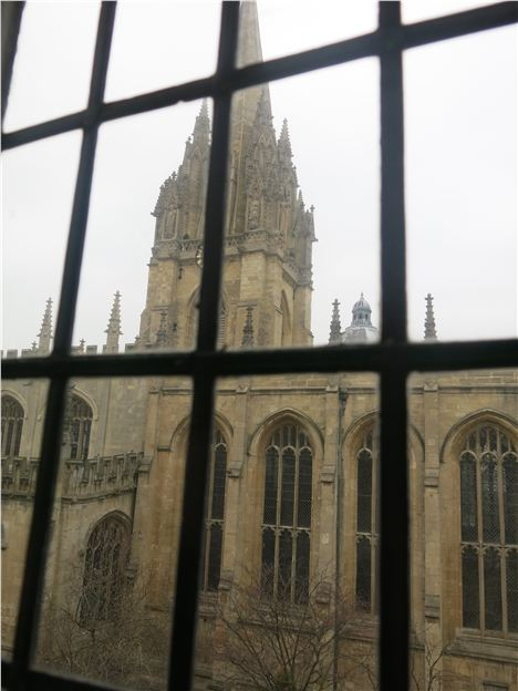 The View From Or Old Bank Bedroom %26#8211%3B St Mary's Church On The High