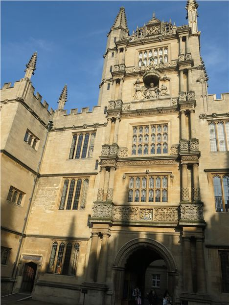 Bodleian, Major Venue For The Oxford Literary Festival