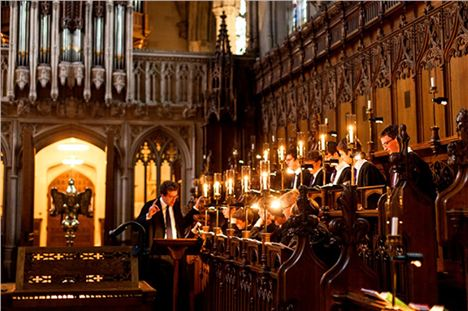 Magdalen College Choir In The Chapel