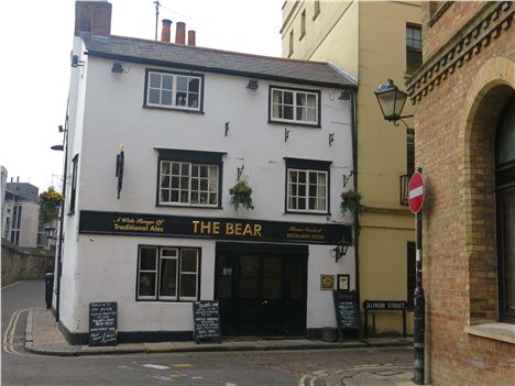 The Bear Tucked In A Back Street Behind Christ Church