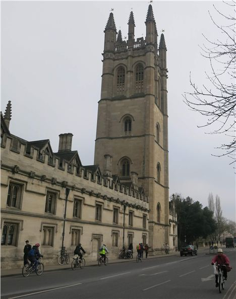Magdalen's Famous Tower