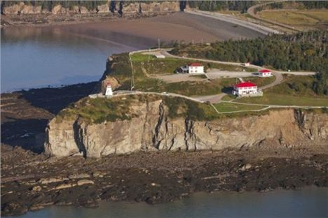 The Headland At Cape Enrage