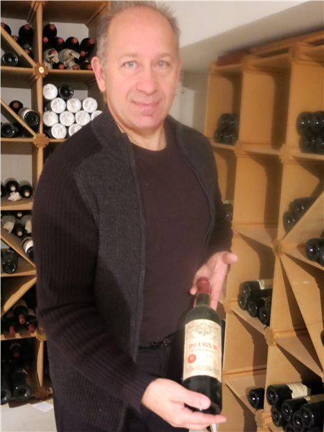 Gilles Ozzello, Sommelier At L'oustau For Over 30 Years
