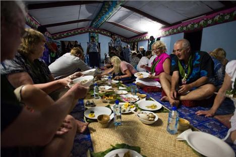 Exceptional Food Prepared By The Women Of Tamasua Village