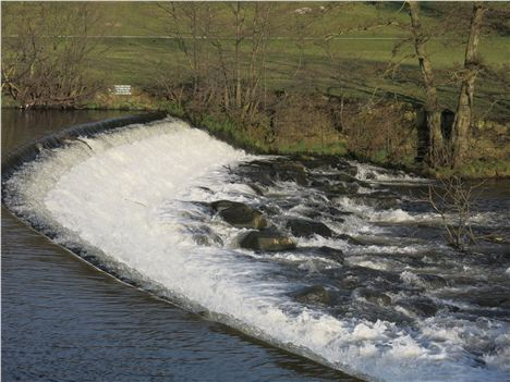 Weir On The Derwent