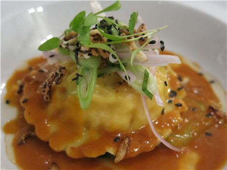 Lobster Ravioli At Ormer
